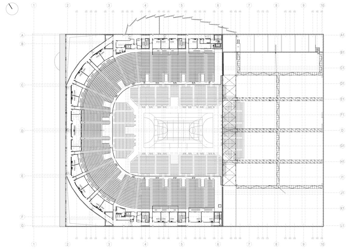 France stadium and arena development news page 57 for Interieur u arena