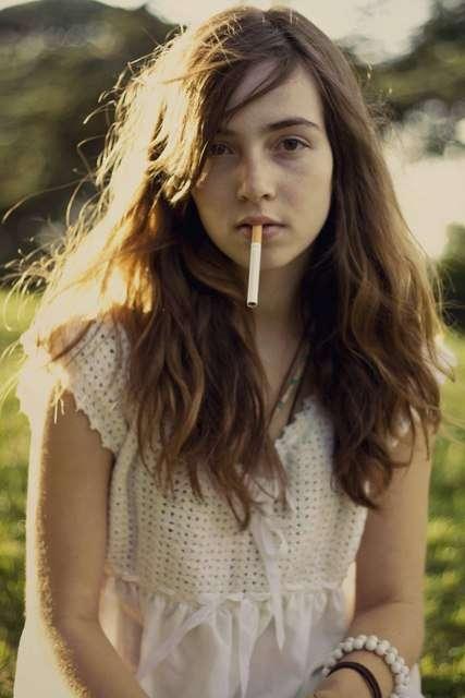 Fumer des clips de filles