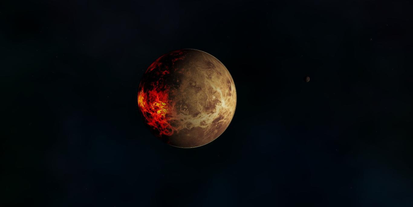 Kerberos Moon Of Plluto: Boliverius Alvera Sagittari