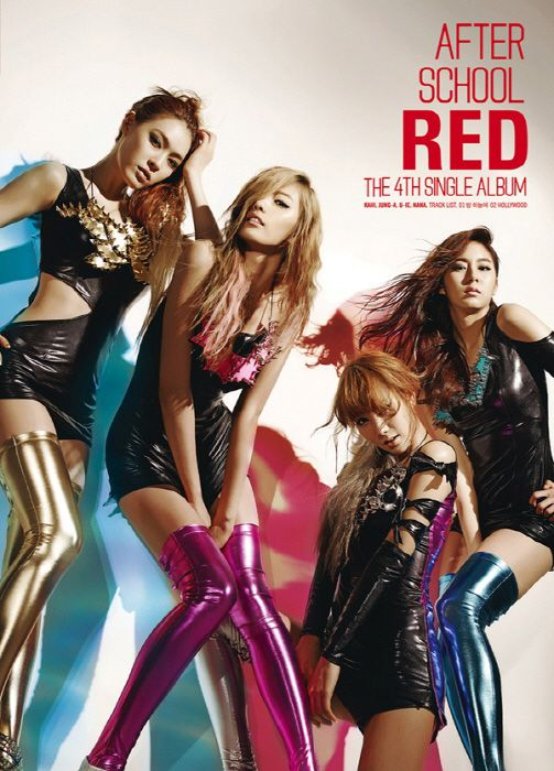 A.S. RED - RED cover